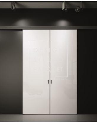 Межкомнатная дверь Aleph Accademia Double Glass Scorrevole