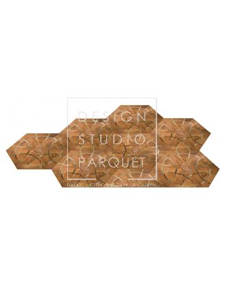 Модули паркета EWF Officine Parquet Alta Moda Collection Kaleidos 120