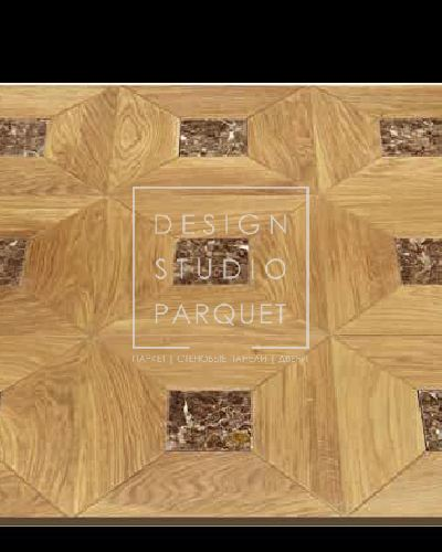 Модули паркета EWF Officine Parquet Classic Collection Giza Дуб+Мрамор