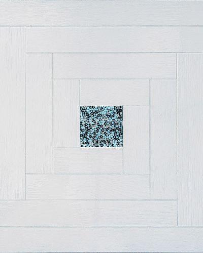 Художественный паркет Garbelotto Creator Murrine Белый дуб тонированный GB-154