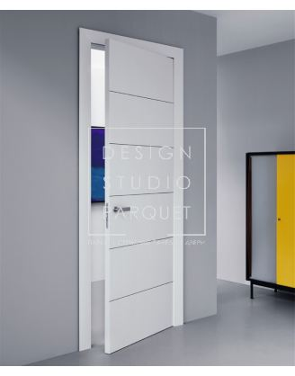 Межкомнатная дверь Lualdi Ala Белая матовая