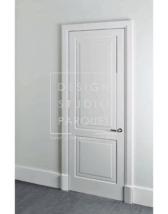 Межкомнатная дверь Lualdi Avenue Белая матовая с двумя панелями
