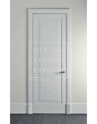 Межкомнатная дверь Lualdi Avenue Белая матовая с одной панелью