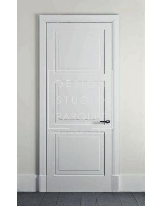 Межкомнатная дверь Lualdi Avenue Белая матовая с тремя панелями
