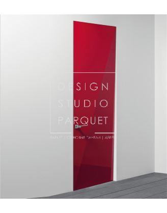 Межкомнатная дверь Lualdi Davina Красная глянцевая