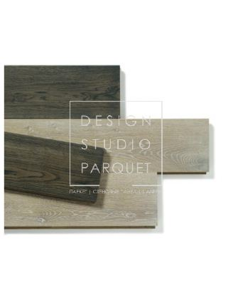 Массив паркета Parquet In Old Chic Collection Tavole Country Дуб серый