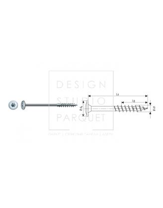 SPAX Для деревянных конструкций 6 мм