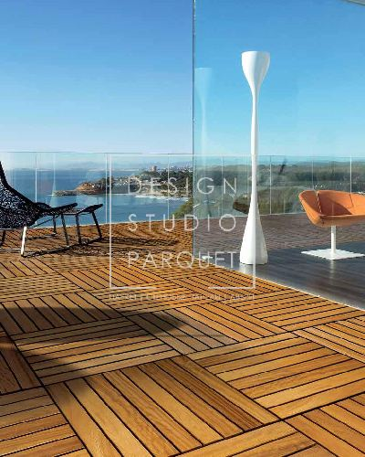 Террасная доска STP Wood Flooring WoodOutdoor Ироко