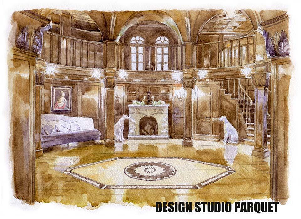 Проектирование и дизайн пола