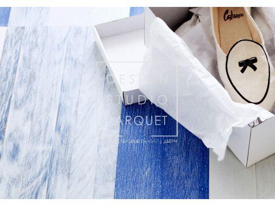 Инженерный паркет BAUWERK Дуб Морённый BLUE INTENSE