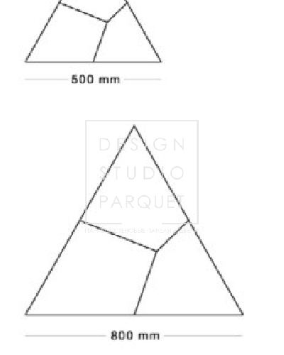 Стеновые панели Friulparchet Forme Fiocco