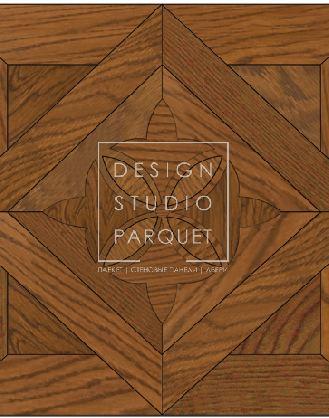 Художественный паркет Garbelotto Creator Tappeti Laser Лазерные ковры Enrico VIII