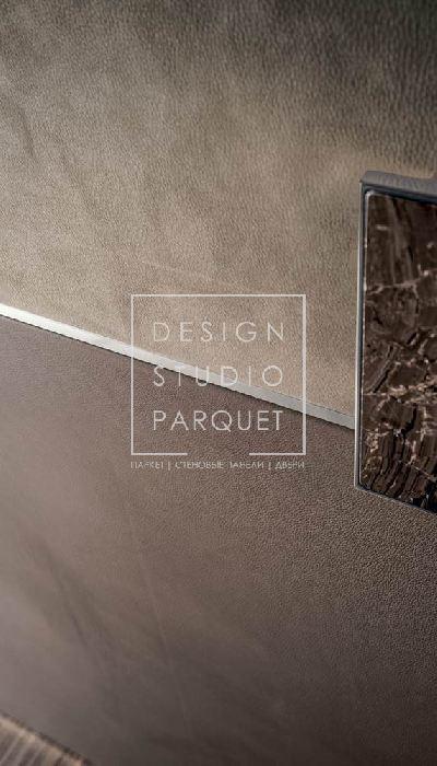 Дверь раздвижная Longhi Aluminium Chic Be Mine Nabuck Taupe + Pelle