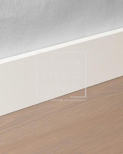 Алюминиевый плинтус Profilpas Metal Line 89/4 (алюминий крашенный, белый матовый)