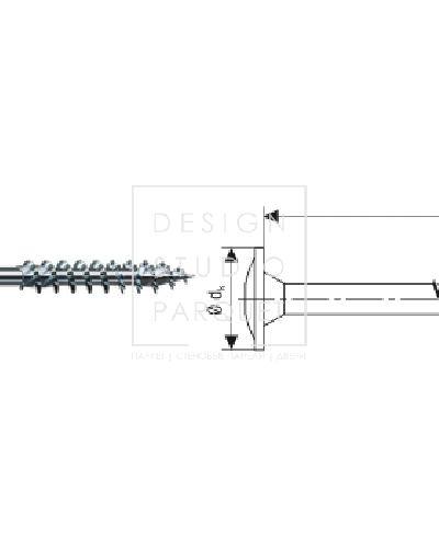 SPAX Для деревянных конструкций 8 мм