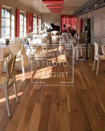 Инженерный паркет STP Wood Flooring Listone Орех американский светлый