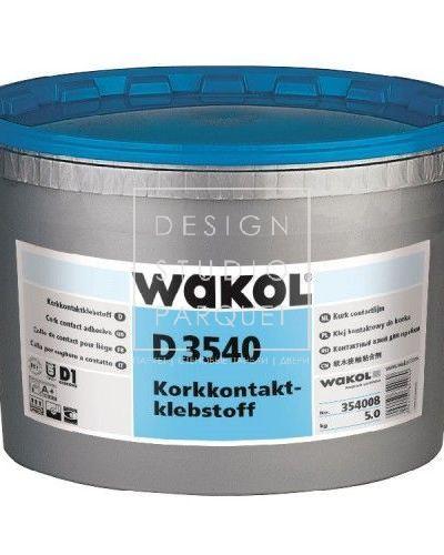 Контактный клей для пробки WAKOL D 3540