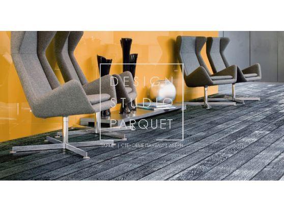 Инженерный паркет Woodco Alpen Parkett Art&design Metal Серебро